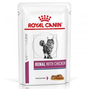 Royal Canin Renal Chicken Wet, Cat 85g x 12gab