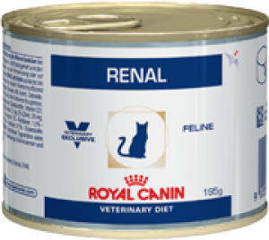 Royal Canin Renal Chicken Wet, Cat, 0.195 kg