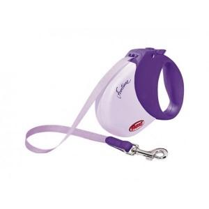 Flexi Funtime S 5m (lenta) violeta