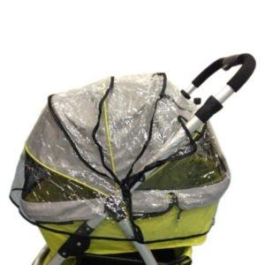Innopet Raincover Retro Transparent - aizsargplēve ratiņiem