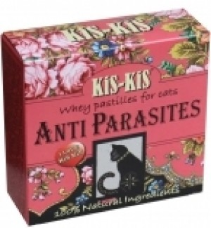 Kis-Kis Anti-Parasite cat vitaminizētas pastilas 60 gr