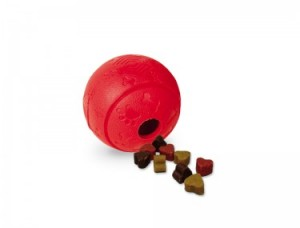 Nobby  Gumijas bumba gardumiem 8 cm