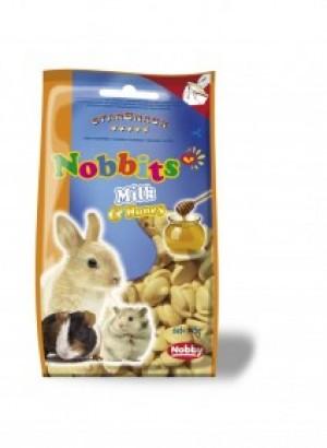 Nobby StarSnack Nobbits Milk & Honey, ar piena un medus garšu 75g