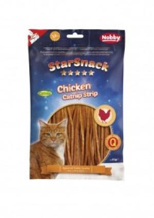 Nobby STARSNACK Chicken Catnip Strip 85g