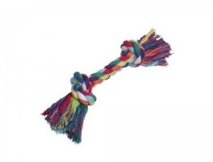 Nobby rotaļlieta suņiem, virve ar 2 mezgliem