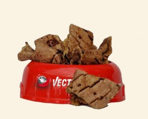 Vektor food Kaltētas liellopu plaušas 100g