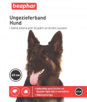 Beaphar Ungezieferband For Dogs 65cm pretblusu, pretērču kaklasiksna suņiem