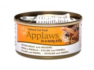 Applaws Cat Chicken Breast with Mackerel 70g