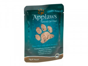 Applaws Cat Tuna Fillet with whole Anchovy 70g