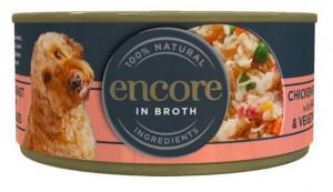 Encore Dog Chicken Breast with Ham&Vegetables 156g