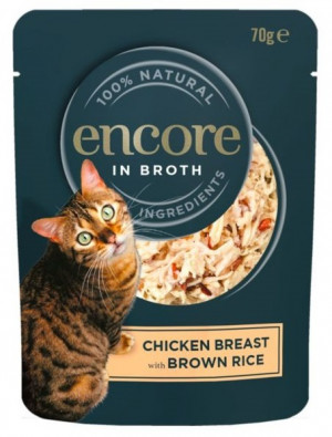 Encore Cat Chicken with Brown Rice 70g