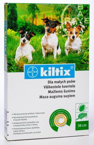 KILTIX Pretparazitāra kaklasiksna maza auguma suņiem 38cm