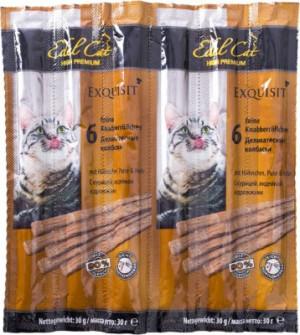 Edel Cat desiņas kaķiem ar vistu un tītara gaļu 6 x 5g