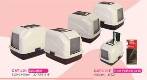 PettOn tualete ar filtru kaķiem