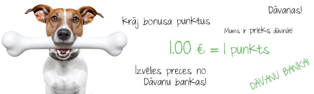 Krāj bonusa punktus un izvēlies sev dāvanu!